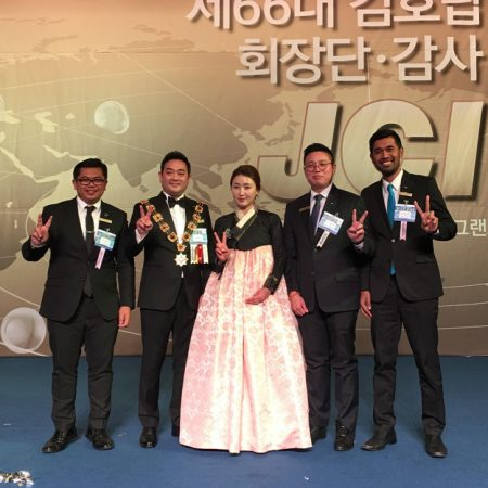 LAWATAN DIREKTUR ELIZABETH INTERNATIONAL KE KOREA