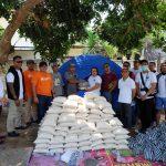 Tim Voice of Lombok salurkan hasil donasi charity concert kepada korban gempa bumi di Lombok (5)