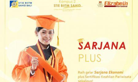 Raih pendidikan Sarjana Plus disini!