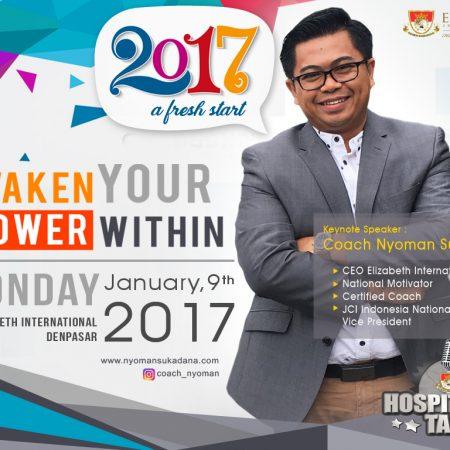 2017 a Fresh Start: Awaken Your Power Within