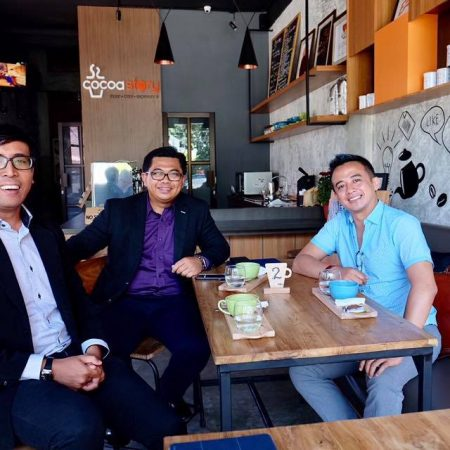 Kunjungan Mr. Demy, Business Development Melbourne Polytechnic