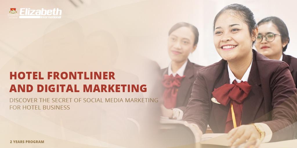 Hotel frontliner digital marketing