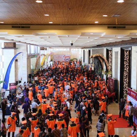 Luar biasa, ribuan orang sesaki 3rd Bali International Career Expo 2018 di BNDCC