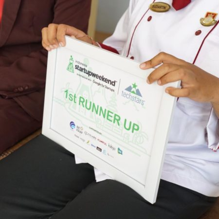 Elizabeth International Students Got Many Medals at Entrepreneurship Startup Weekend