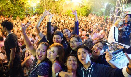 Stunning! Elizabeth International Z Jukeboxtival Funtenzy Rock Denpasar City