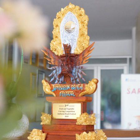 Mahasiswa Elizabeth International Kunci Salah Satu Gelar Juara Di Ajang Jimbaran Bay Festival 2019