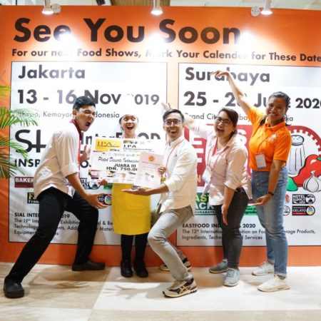 Mahasiswa Elizabeth International rengkuh gelar dalam ajang inter food culinary competition 2019