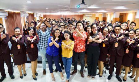 Sosialisasi Kompetisi Wirausaha Muda Denpasar di Elizabeth International