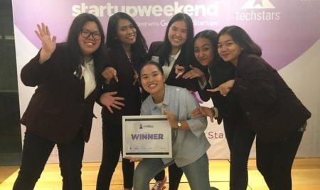 ELMO won the Indonesia – Women  Techstars Startup Weekend- Bali !