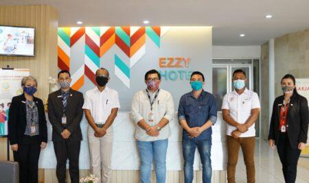 Chairman Hotel Front Liner Association (HFLA) Indonesia kunjungi Kampus Elizabeth International