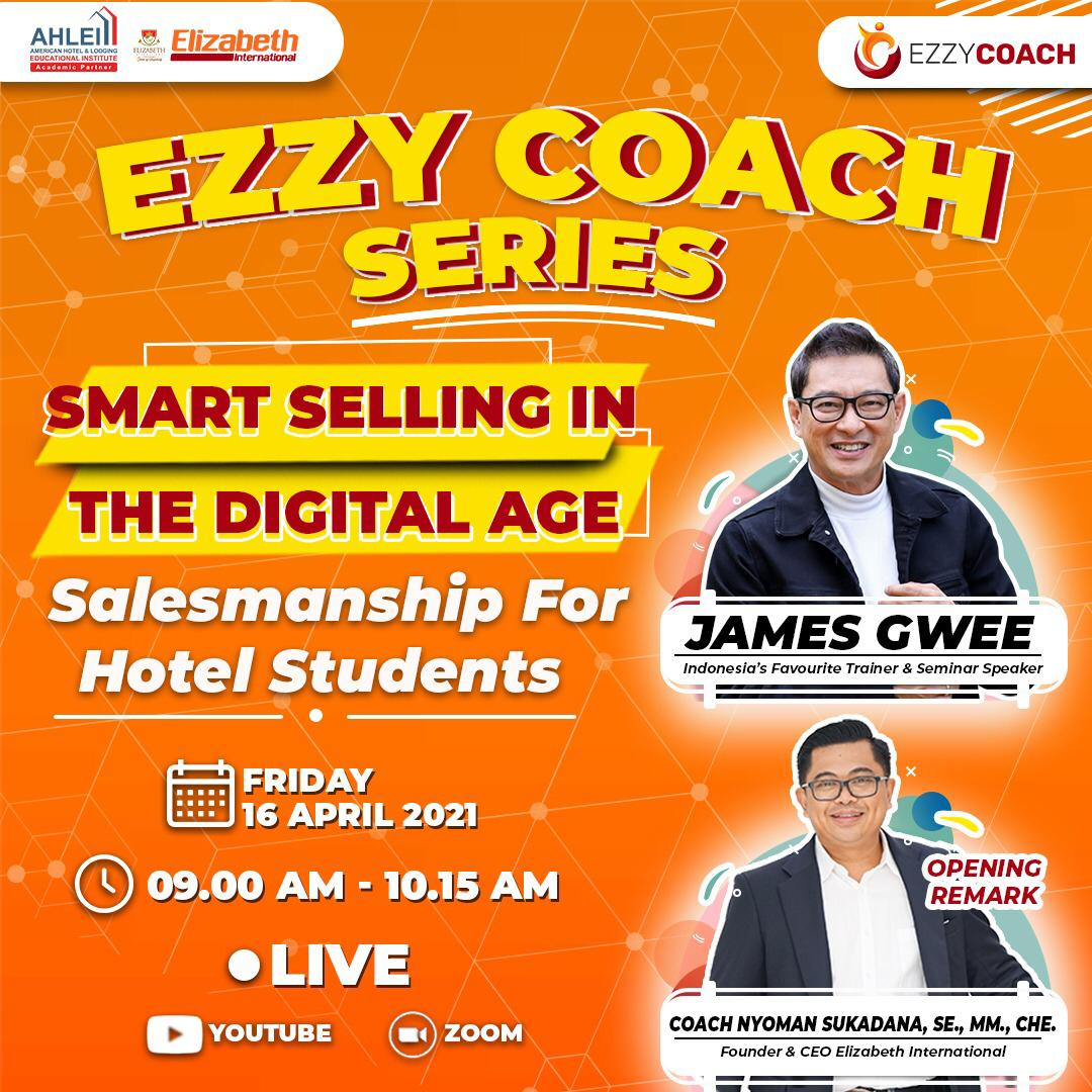 Smart Selling in The Digital Age  Salesmanship for Hotel Student