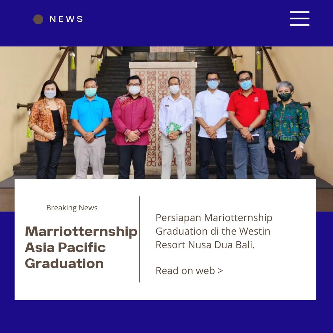 ASIA PACIFIC MARRIOTERNSHIP CULINARY PROGRAM